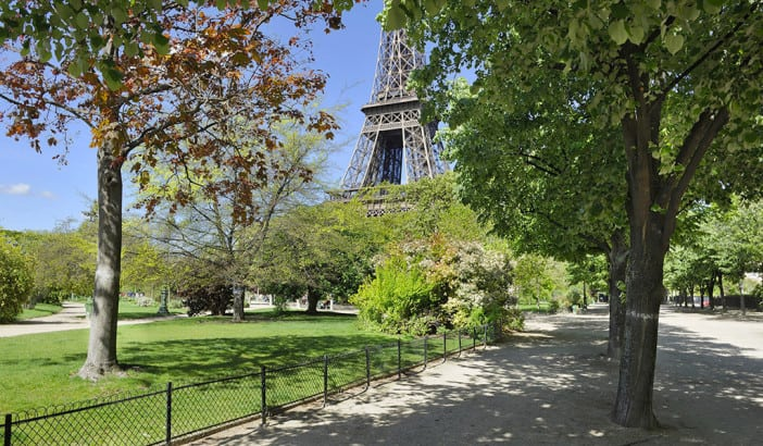 Experience at the eiffel tower in paris for Jardin trocadero